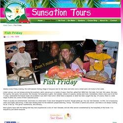 Grenada Sunsation Tours - Grenada's Tour Operator - Grenada Fish Friday with Sunsation Tours