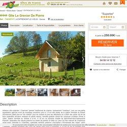 Gîte Le Grenier De Pierre à Entremont-le-vieux - Savoie , Gîte 3 épis Savoie