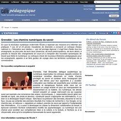 Grenoble : Les chemins numériques du savoir