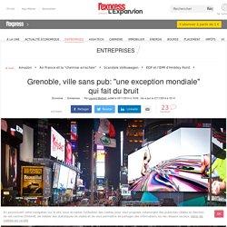 """Grenoble, ville sans pub: """"une exception mondiale"""" qui fait du bruit"""
