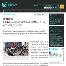 Grenoble : l'ADTC veut faire rimer Métro avec vélo d'ici 2020