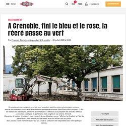 (5) A Grenoble, fini le bleu et le rose, la récré passe au vert