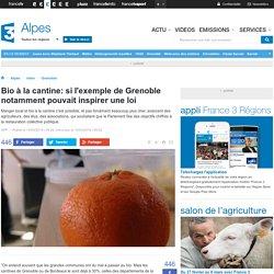 Bio à la cantine: si l'exemple de Grenoble notamment pouvait inspirer une loi - France 3 Alpes