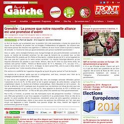 Grenoble : La preuve que notre nouvelle alliance est une promesse d'avenir