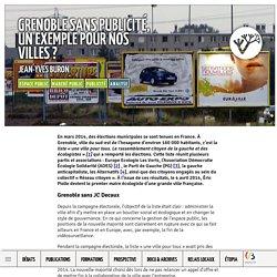 Grenoble sans publicité, un exemple pour nos villes?
