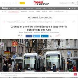 Grenoble, première ville d'Europe à supprimer la publicité de ses rues