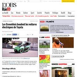 Les Grenoblois boudent les voitures électriques de Toyota