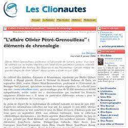 """""""L'affaire Olivier Pétré-Grenouilleau"""" ... - Les Clionautes"""