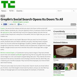 Greplin's Social Search Opens Its Doors To All