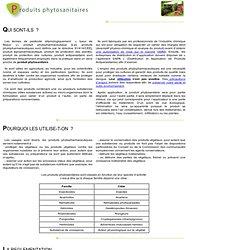 GREPP produits phytosanitaires
