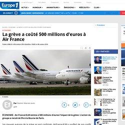 La grève a coûté 500 millions d'euros à Air France