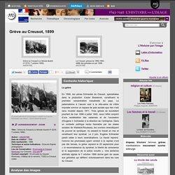Grève au Creusot, 1899