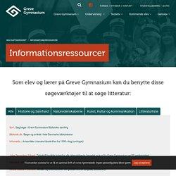 Greve Gym - Informationsressourcer