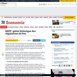 RATP: grève historique des régulateurs de bus