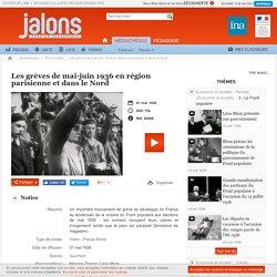 Les grèves de mai-juin 1936 en région parisienne et dans le Nord