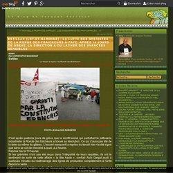 ESTILLAC (LOT-ET-GARONNE) : LA LUTTE DES GREVISTES DE LA RONDE DES FRAICHEURS A PAYE. APRES 14 JOURS DE GREVE, LA DIRECTION A DU LACHER DES AVANCEES SENSIBLES - Le blog de Jacques Tourtaux