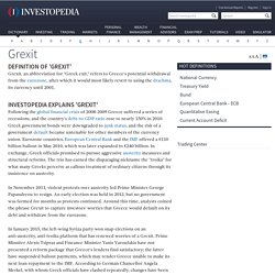 Grexit Definition