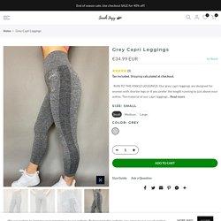 Grey Capri Leggings – Sarah Jayy