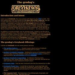 Greyhawk, grodog Style