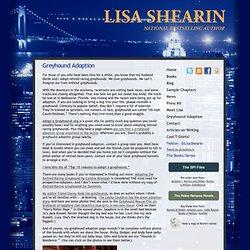 Lisa Shearin Group Series Greyhound Adoption