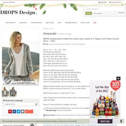 Greyscale / DROPS 106-1 - Free knitting patterns by DROPS Design