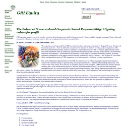 GRI Equity - integral investing