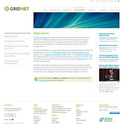 Grid Net | Applications