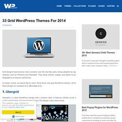33 Grid WordPress Themes For 2014