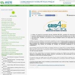 Grid4EU : le plus grand projet de Smart Grid européen