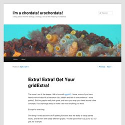 Extra! Extra! Get Your gridExtra!