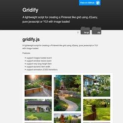 Gridify
