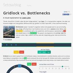 Gridlock vs. Bottlenecks
