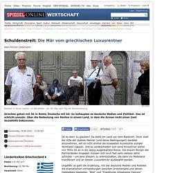 Griechenland: Was Rentner im Vergleich zu Deutschland wirklich kriegen