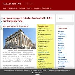 Auswandern nach Griechenland aktuell - Infos zur Einwanderung