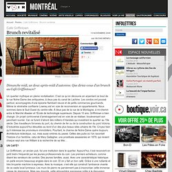Café Griffintown : Brunch revitalisé – Restos