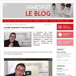 """Les RSE """"grignotent"""" l'Intranet et GED !"""
