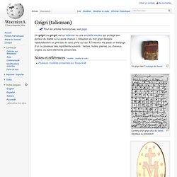 Grigri (talisman)