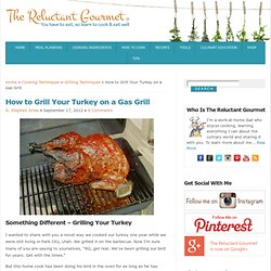 Grilling A Turkey on the Barbecue