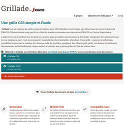 Grillade, by KNACSS, une grille simple en Flexbox