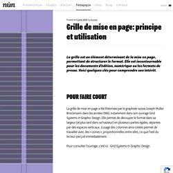 Grille de mise en page: principe et utilisation