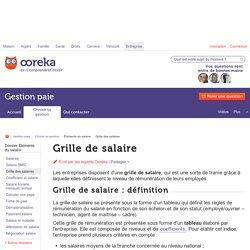 Grille de salaire: fixation - Ooreka