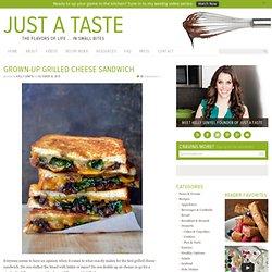 Grown-Up fromage grillé Sandwich Recette