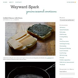 Grilled Cheese with Pesto