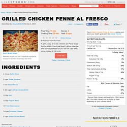 Grilled Chicken Penne al Fresco Recipe