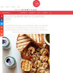 Grilled Shrimp with Cilantro Pesto