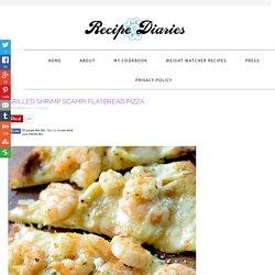 Grilled Shrimp Scampi Flatbread Pizza