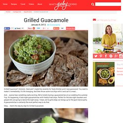 Grilled Guacamole Recipe