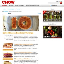Grilled Cheese Sandwich Cravings - The Ten