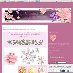 Fleurs et leurs grilles gratuites