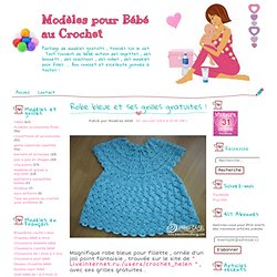 Free blue dress and grids! - Models for Baby Crochet